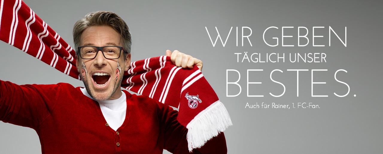 Jonentestimonial 1. FC Köln Fan